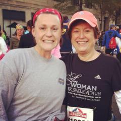 Ruth and I at the 2012 Richmond Half Marathon