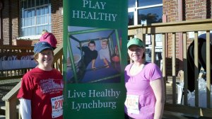 Ruth and I at 2012 Point of Honor 5K